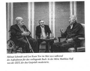 Helmut Schmidt, Lee und Matthias Nass