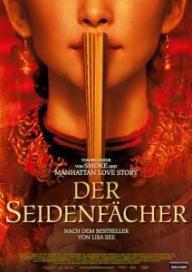 "Buchcover ""Der Seidenfächer"""